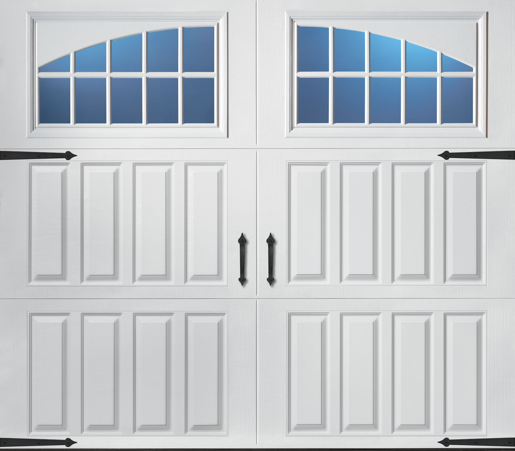 The Magnetic Hardware On This Amarr Clica Collection Garage Door Gives Look Of A Real Carriage House