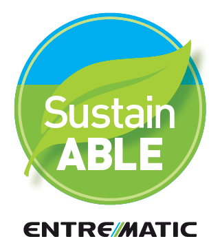 Entrematic's commitment to sustainability benefits the wellbeing of our planet.