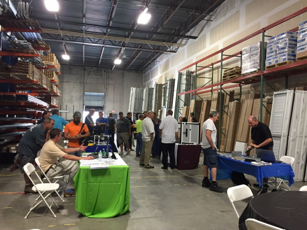 Dealers learned more about Amarr garage doors at our Open House in Kansas City on July 26, 2016.