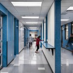 Amarr 3552 Aluminum Full View Doors Help Create Dynamic Learning Environment