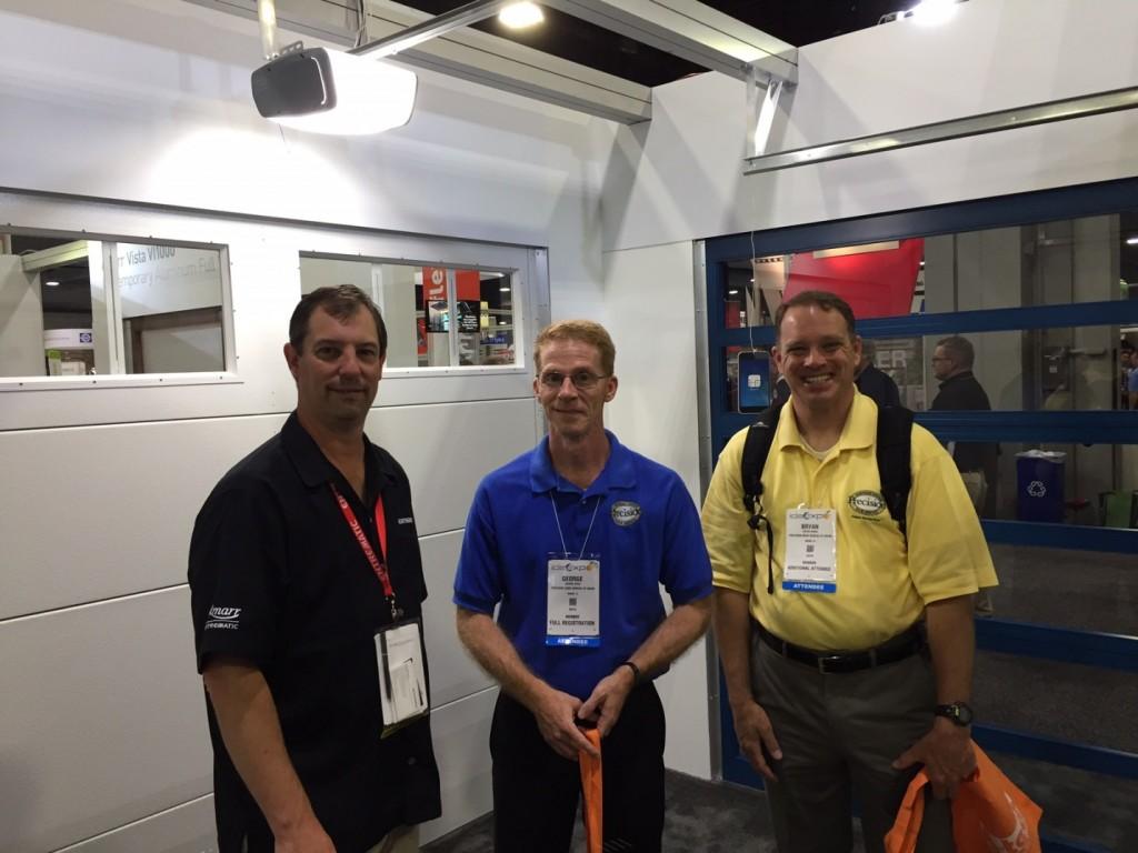 Amarr 860 Smart Wi-Fi Garage Door Opener in action at IDA EXPO 2017
