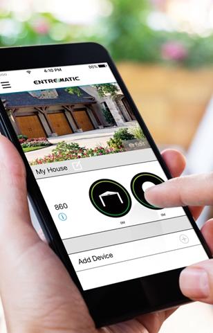 Entrematic Garage Door Controller app for Amarr 840 & 860