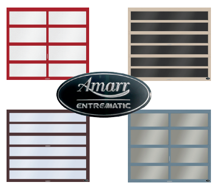 PVDF coating for Amarr aluminum doors